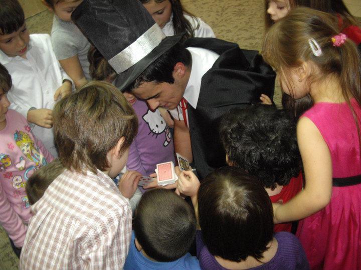 Magician la petreceri