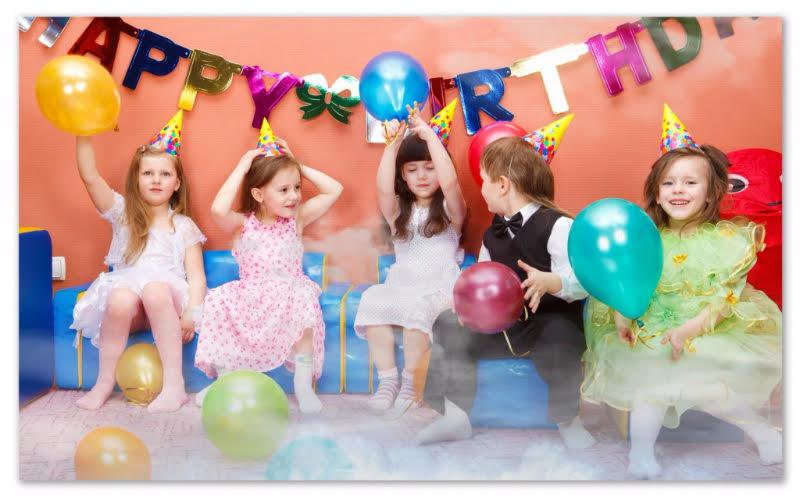 efecte de fum petreceri copii
