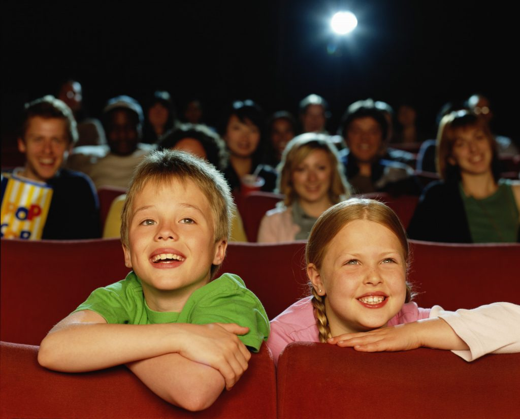 copii la cinema