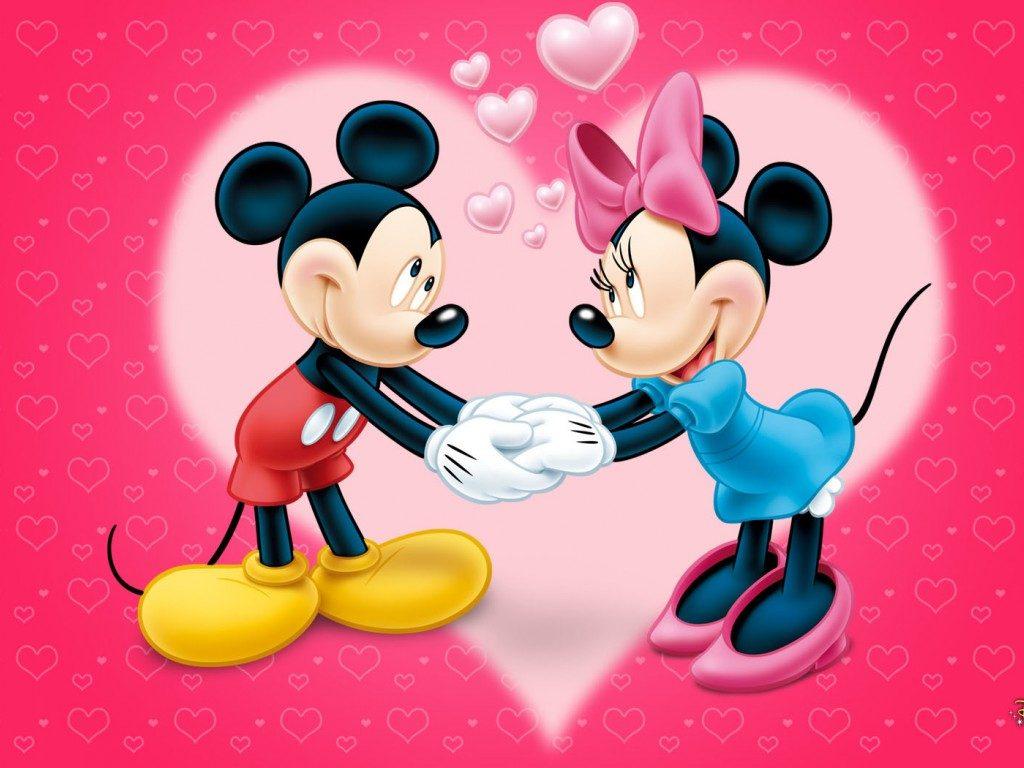 Mickey si Minnie Mouse animatori copii Bucuresti